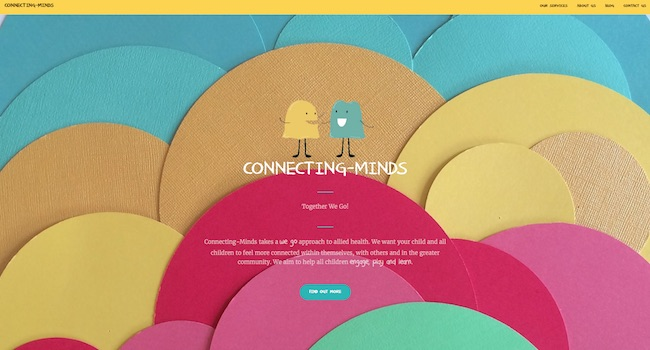 Connecting-Minds Website